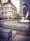 Lugar histórico em Bucareste Fotografia de Stock