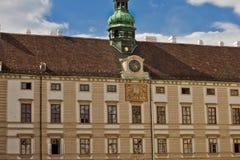 Lugar histórico en Viena, Austria Fotos de archivo libres de regalías