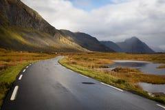 Lugar, ilhas de Lofoten - Noruega imagem de stock royalty free