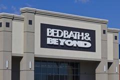 Lugar IV do retalho de Bed Bath & Beyond imagens de stock