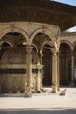 Lugar a la colada de la mezquita del alabastro Fotos de archivo libres de regalías