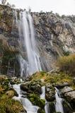 Lugar llevado río de Ason en Cantabria Fotos de archivo libres de regalías