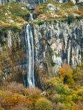Lugar llevado río de Ason en Cantabria Foto de archivo