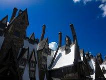 Lugar mágico em Hogsmeade foto de stock