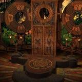 Lugar místico ilustração stock