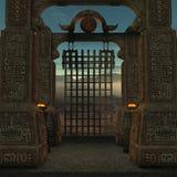 Lugar místico ilustração royalty free