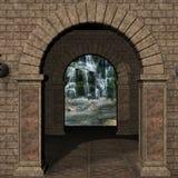 Lugar místico Imagen de archivo