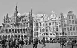 Lugar magnífico - Bruselas Fotografía de archivo