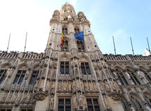 Lugar magnífico o Grote Markt en Bruselas Bélgica Imagen de archivo libre de regalías