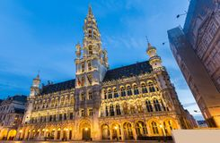 Lugar magn?fico Bruselas B?lgica imagen de archivo libre de regalías