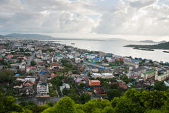 Lugar maravilhoso Hatyai Tailândia imagem de stock