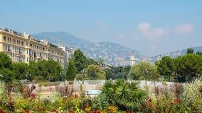 Lugar Massena - Niza Foto de archivo libre de regalías