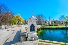 Lugar na Croácia, Europa de Solin Imagens de Stock