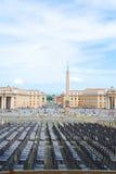 Lugar na frente de St. Peter imagem de stock