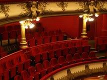 Lugar no teatro Fotografia de Stock Royalty Free