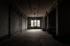 Lugar oscuro y abandonado imagen de archivo libre de regalías