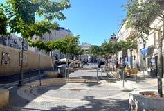Lugar público del ` s de Jerusalén Imagen de archivo