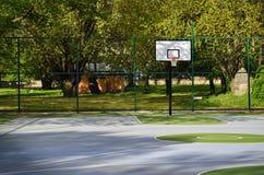 Lugar para el baloncesto imagen de archivo