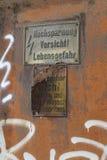 Lugar perdido imágenes de archivo libres de regalías