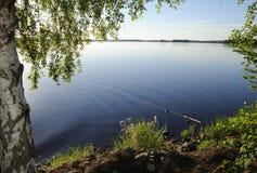 Lugar perfecto de la pesca Imágenes de archivo libres de regalías