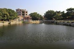 Lugar popular de las creencias por el lago Imágenes de archivo libres de regalías