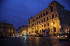 Lugar Praga República Checa Europa Imagens de Stock Royalty Free