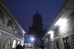 Lugar religioso sikh de Gurdwara Fotos de Stock