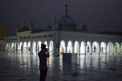 Lugar religioso sikh de Gurdwara Foto de Stock