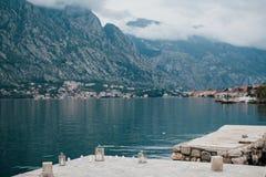 Lugar romántico en la bahía Foto de archivo libre de regalías