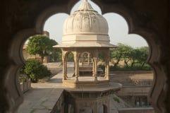Lugar sagrado con arquitectura hermosa, la India Imagen de archivo