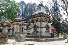 Lugar sagrado del hindus de Pashupatinath Imagenes de archivo