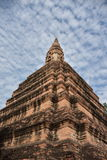 Lugar sagrado em Ayutthaya, em Tailândia, Fotografia de Stock Royalty Free