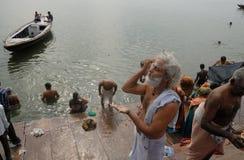 Lugar santo en la India Imágenes de archivo libres de regalías