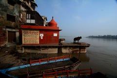 Lugar santo Mathura Foto de archivo libre de regalías