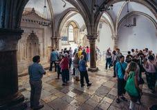 Lugar santo no Jerusalém foto de stock