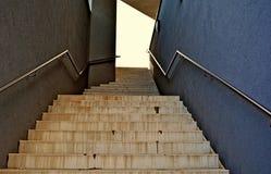 Lugar solo de las escaleras foto de archivo libre de regalías