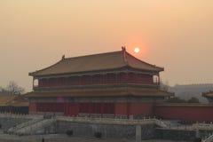 Lugar surpreendente do Pequim da Cidade Proibida Foto de Stock Royalty Free