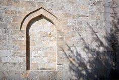 Lugar turco viejo con una sombra dramática foto de archivo libre de regalías