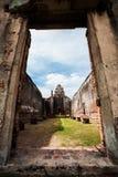 Lugar velho em Tailândia foto de stock