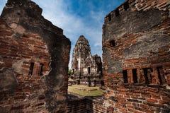 Lugar velho em Tailândia Fotos de Stock Royalty Free