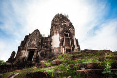 Lugar velho em Tailândia fotografia de stock