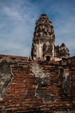 Lugar velho em Tailândia imagem de stock royalty free
