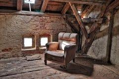 Lugares abandonados completos dos segredos fotografia de stock