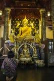 Lugares de culto e arte do templo de Tailândia Imagem de Stock Royalty Free