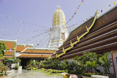Lugares de culto e arte do templo de Tailândia Fotografia de Stock