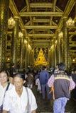 Lugares de culto e arte do templo de Tailândia Imagens de Stock Royalty Free