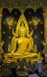 Lugares de culto e arte do templo de Tailândia Imagens de Stock