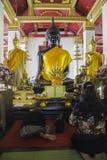 Lugares de culto e arte do templo de Tailândia Imagem de Stock