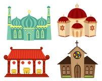 Lugares de culto Imagens de Stock