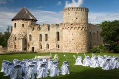 Lugares de la ceremonia de boda Imagen de archivo libre de regalías